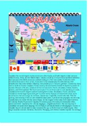 English Worksheet: Canada