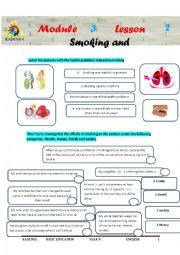 English Worksheet: 9eme