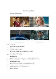 Movie Passengers Worksheet