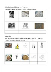 English Worksheet: Ancient Rome