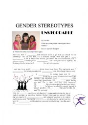 English Worksheet: Unstoppable - Listening practice - Gender stereotypes