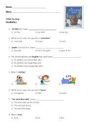 English Worksheet: The Gruffalo�s Child