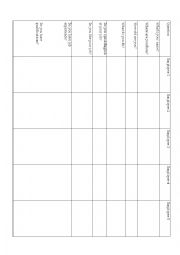 English worksheet: Jobs Interviews - Employees for Elementary Level