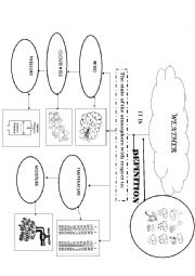 English Worksheet: WEATHER AND CLOTHES WORKSHOP