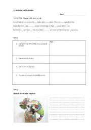 English Worksheet: Global English 4 revision worksheet