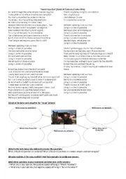 English Worksheet: Song: Amish Paradise