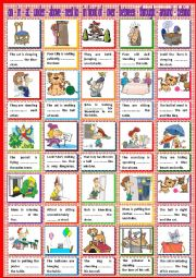 English Worksheet: PREPOSTIONS : at on in under above next to between through in front of over behind