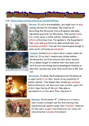 The World´s Strangest Christmas Traditions
