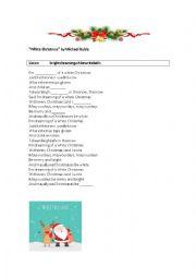 White Christmas (lyrics) Michael Buble and Shania Twain