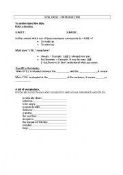 English Worksheet: STILL I RISE