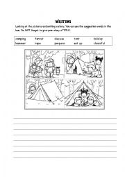 Writing picture story