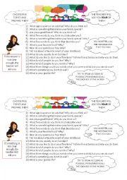 English Worksheet: Elementary oral exams