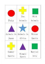 English worksheet: Fun English Card Game