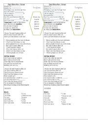 English worksheet: Sonh Human