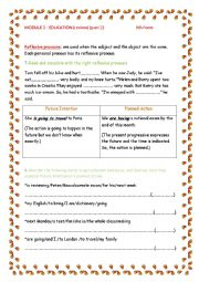 English worksheet: Review Module 2 Education 9th form (Part 2)