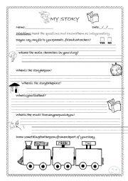 English Worksheet: report