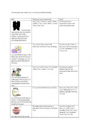 English Worksheet: Chinese New Year Taboos
