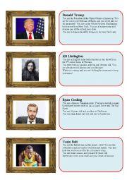Celebrity speed dating - guys