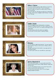 Celebrity speed dating - girls