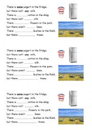 English Worksheet: Grammar poem