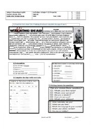 Elementary English Diagnostic Test/Exam