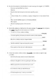 English Worksheet: TEST. Sports, passive voice and conditionals