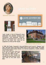 Jane Austen - The 200th anniversary of her death
