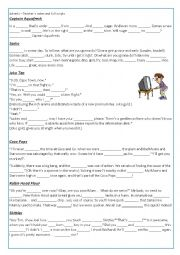 English Worksheet: TV adverts (1/3)
