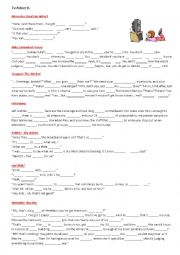 English Worksheet: TV adverts (2/3)