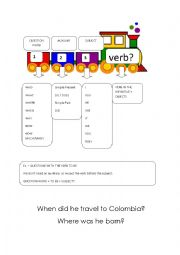 English Worksheet: Question formation - Explanation and practice