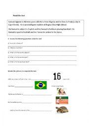 english worksheets revision sheet mini test. Black Bedroom Furniture Sets. Home Design Ideas