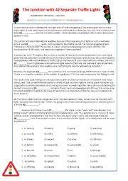 Traffic Light FCE Reading - Debate - Traffic Stop Role-Play