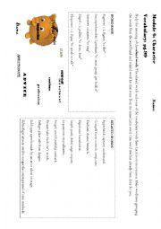 English Worksheet: Latin Roots in English