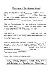 English worksheets: reading worksheets, page 1105