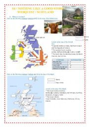 English Worksheet: Webquest - Scotland