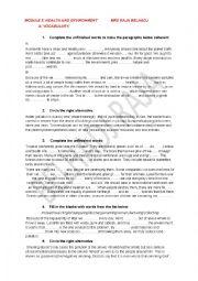 REVIEW PAPERS MODULE 3 GRADE 9 Tunisian program