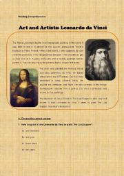 Art and Artists: Leonardo da Vinci