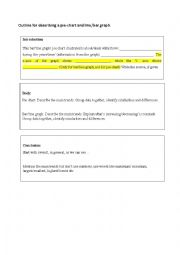 english worksheets describing a pie chart. Black Bedroom Furniture Sets. Home Design Ideas