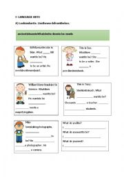 English Worksheet: WANTS AND NEEDS