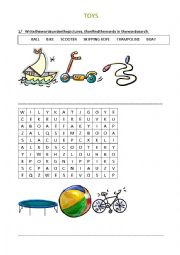 English Worksheet: Toys - Happy House 2