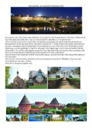 English worksheet: An ancient Russian city-Smolensk.