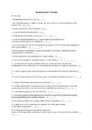 English Worksheet: Busienss english