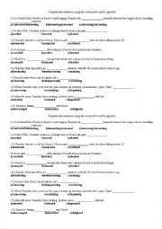 English Worksheet: Tv series - Friends
