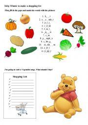 Help Winnie the Pooh
