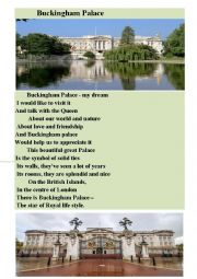 English Worksheet: Buckingham Palace