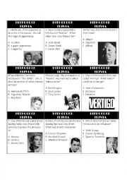 Hitchcock Triva Game