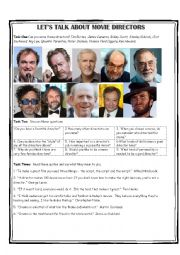 Let´s talk about Movie Direcrtors