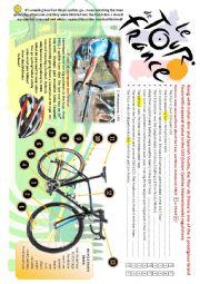 English Worksheet: The Tour de France