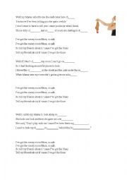 English Worksheet: Messy Room Blues by Johnette Downing