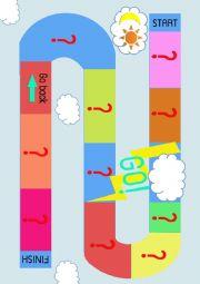 English Worksheet: Weather board game